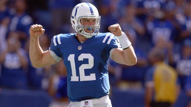 Jim Irsay discusses Andrew Luck's health and future with Colts--IMAGE