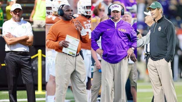 10 questions that will define the coaching carousel: What's next for Texas, LSU, Oregon, Les Miles, Art Briles and more?