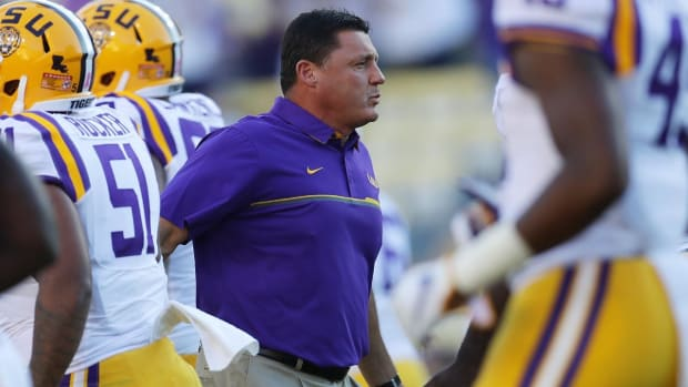 Alabama vs. LSU: What's on the line for Ed Orgeron? -- IMG