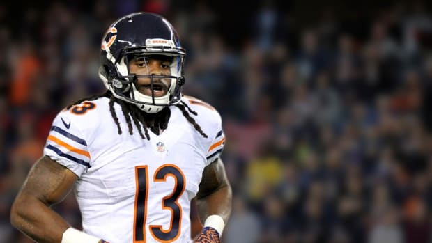 Bears wideout Kevin White headed to injured reserve -- IMAGE