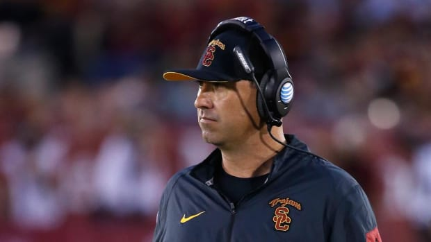 Steve Sarkisian named offensive coordinator at Alabama--IMAGE