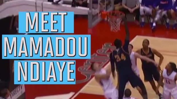 "Meet 7'6"" NBA draft prospect Mamadou Ndiaye--IMAGE"