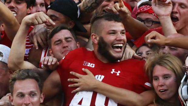 Wisconsin players discuss their odd haircuts -- IMAGE