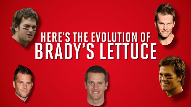 The evolution of Tom Brady's hair - IMAGE