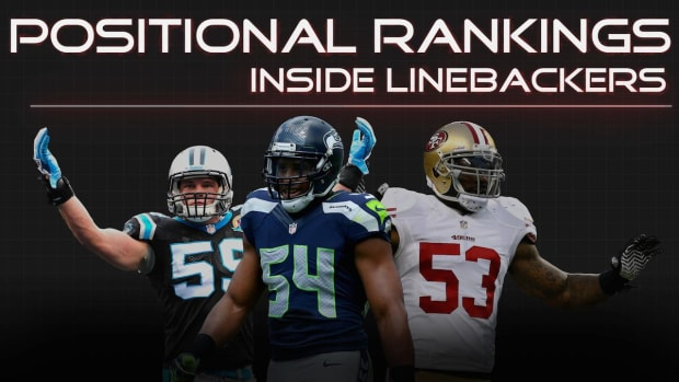 Positional Rankings: Inside linebackers IMAGE