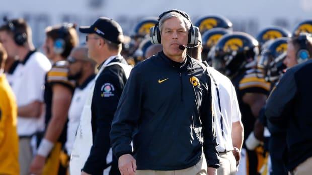 Iowa coach Kirk Ferentz discusses his 2016 expectations, quarterback C.J. Beathard and the keys to longevity