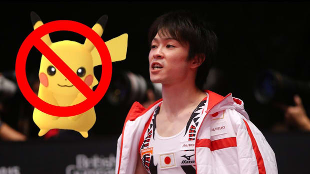 Japanese gymnast has a $5k phone bill from using Pokemon Go in Rio - IMAGE