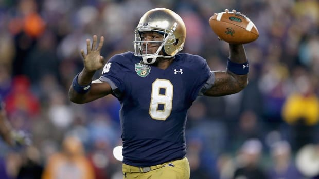 Report: Notre Dame's Malik Zaire expected to get release Wednesday - IMAGE
