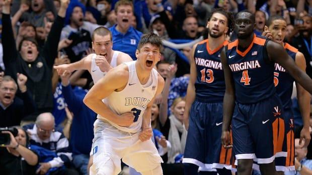 Duke pulls upset at buzzer - IMAGE