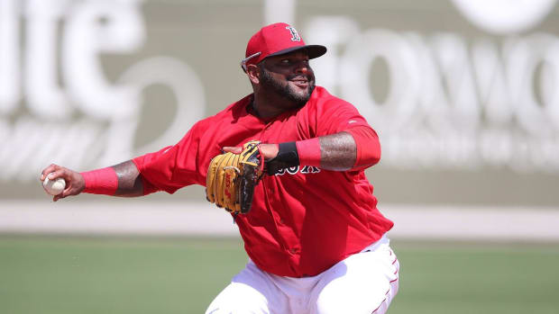 Red Sox place Pablo Sandoval (shoulder) on DL - IMAGE