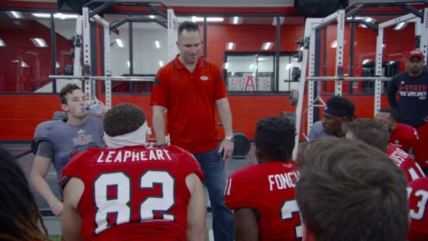 Coach for a day: Thayer Evans takes over Arkansas State's spring game IMG