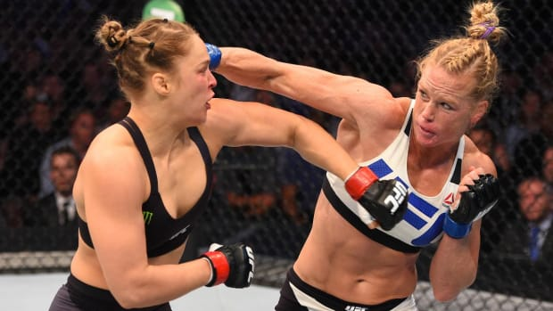 Laila Ali: Holly Holm would beat Ronda Rousey in rematch - IMAGE