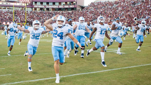 Florida State's playoff hopes vanish with upset loss to North Carolina -- IMAGE