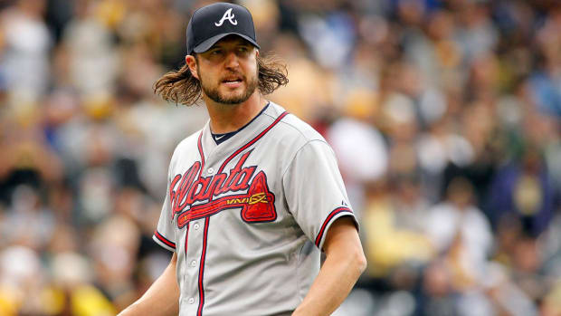 Blue Jays acquire RP Jason Grilli from Braves for prospect--IMAGE