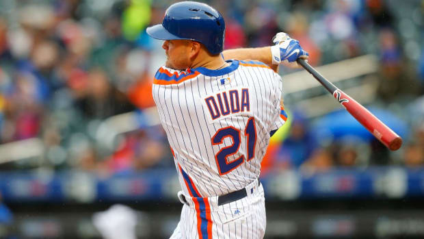 Mets 1B Lucas Duda unlikely to play again this season IMAGE