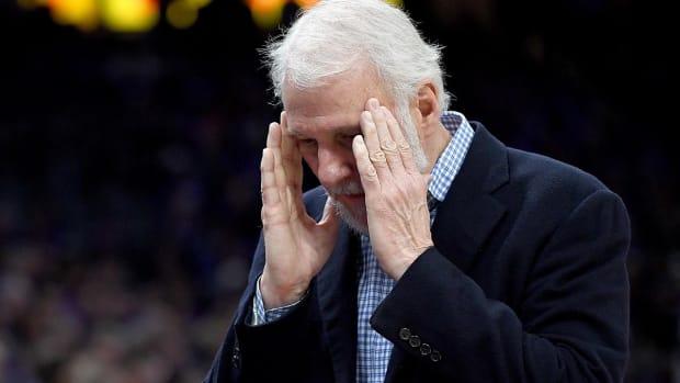 Gregg Popovich rips team's 'awful, pathetic' performance vs. Mavericks - IMAGE