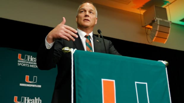 Mark Richt talks about recruiting in 'paradise' IMAGE
