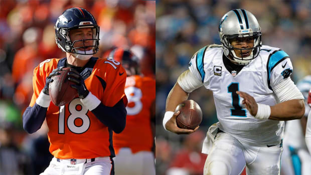 Panthers open as Super Bowl favorites over Broncos - IMAGE