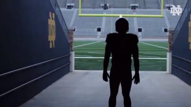 Notre Dame unveils Shamrock Series uniforms for 2016- IMAGE