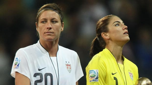 Abby Wambach: 'I had big problems' with Hope Solo's comments IMAGE