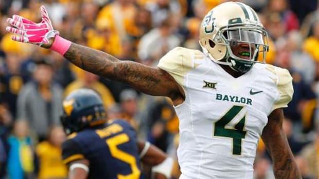 Baylor CB Xavien Howard declares for 2016 NFL draft - IMAGE
