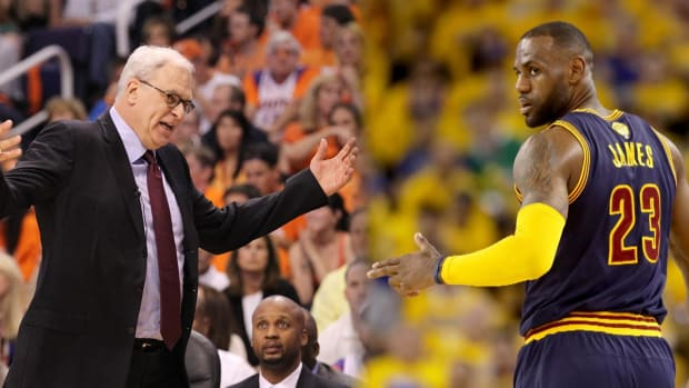 LeBron James frustrated by Phil Jackson's 'posse' comments - IMAGE