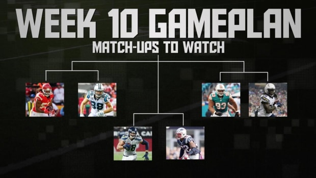 NFL's Week 10 Gameplan IMAGE