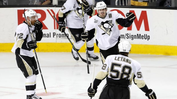 Penguins can clinch cup on home ice for 1st time Thursday - IMAGE