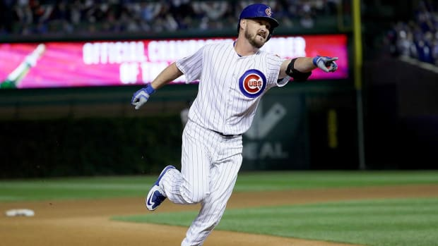 Chicago Cubs one win away from NLCS--IMAGE