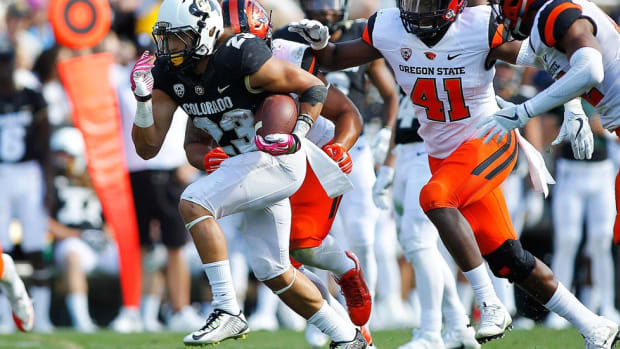 Colorado running back Phillip Lindsay discusses the Buffs' resurgence and his unlikely favorite college class