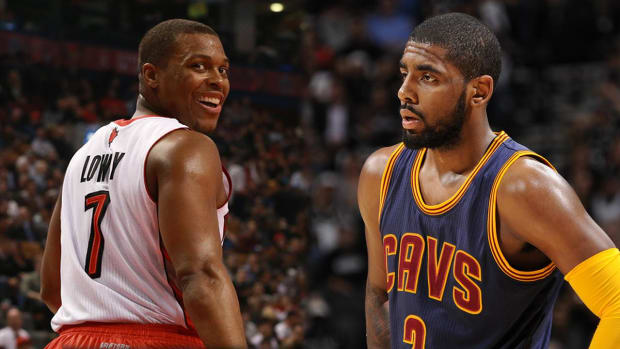 Kyrie Irving says Kyle Lowry deserves to start All-Star Game  -- IMAGE