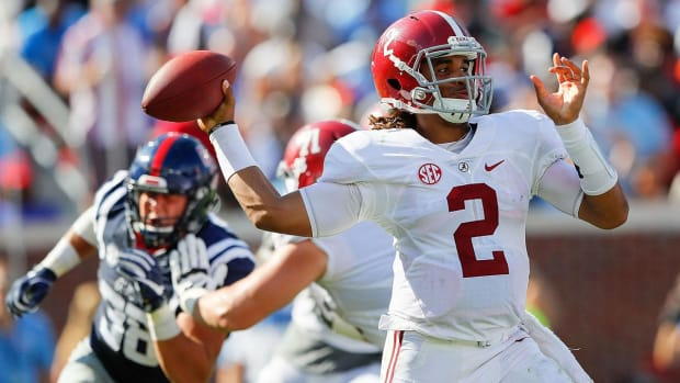No. 1 Alabama comes back from 21-point deficit to beat No. 19 Ole Miss - IMAGE