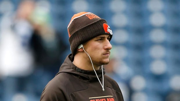 Johnny Manziel indicted in domestic violence case IMAGE