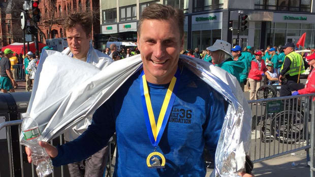 Mississippi State coach Dan Mullen's experience running the Boston Marathon was thrill of a lifetime