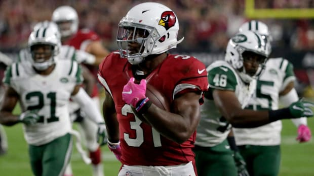 David Johnson's big game leads Cardinals to blowout win over Jets - IMAGE