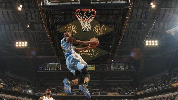 Report: LaVine, Drummond, Barton and Gordon in NBA Dunk Contest--IMAGE