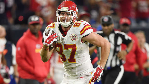 fantasy football TE ppr rankings travis kelce