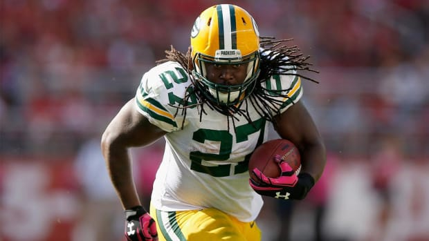 Packers RB Eddie Lacy on weight loss: 'I think I look good' - IMAGE