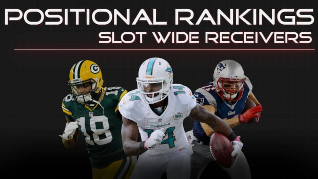 Positional Rankings: Slot wide receivers IMAGE