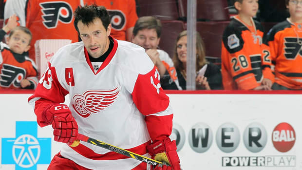 Pavel Datsyuk to leave Red Wings at season's end--IMAGE