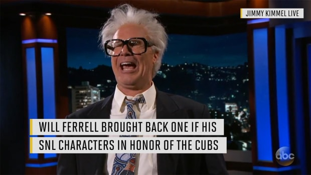 Watch: Will Ferrell revives his Harry Caray impression in honor of the Cubs IMAGE