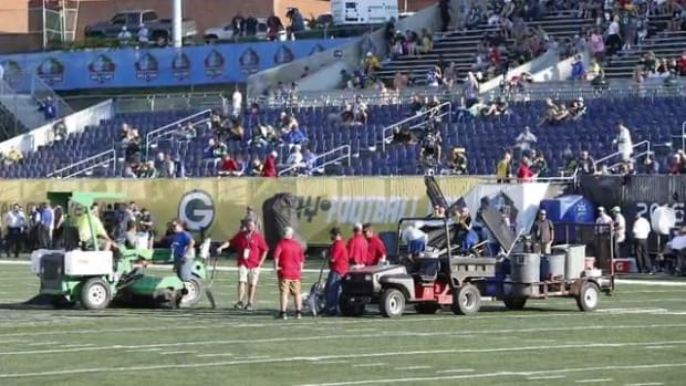 NFL executive Troy Vincent takes responsibility for Hall of Fame Game field conditions - IMAGE