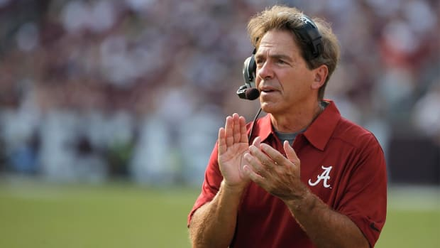 Nick Saban responds to Jim Harbaugh's tweet - IMAGE