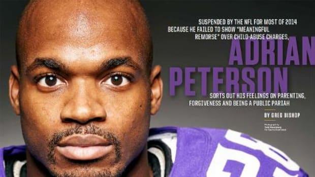 Adrian Peterson discusses his return, parenting in SI exclusive - IMAGE