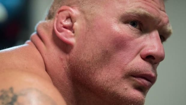 Brock Lesnar suspended for one year, fined $250,000 after failing drug tests - IMAGE