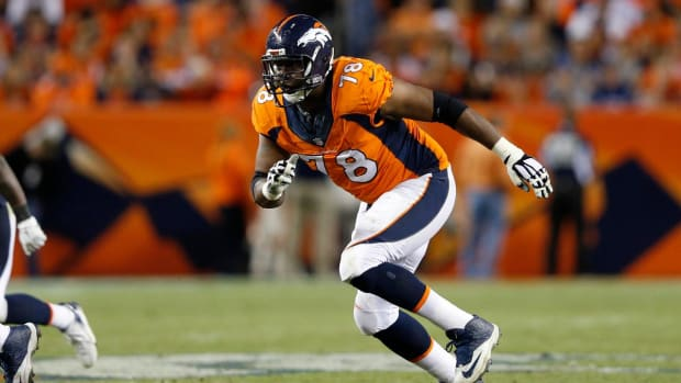 Reports: Broncos trade tackle Ryan Clady to Jets -- IMAGE