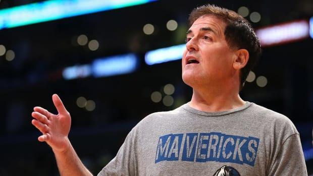 Mark Cuban thinks super teams are good for NBA --  IMAGE
