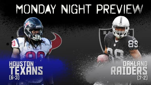 Monday Night preview: Texans vs. Raiders IMAGE