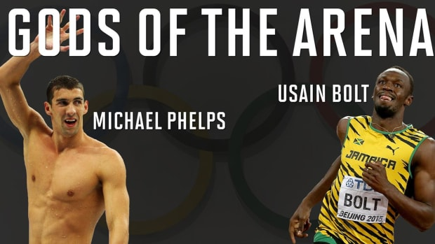 Comparing Olympic greats: Michael Phelps vs. Usain Bolt--IMAGE