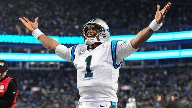 Cam Newton has a chance to make history in the Super Bowl IMAGE